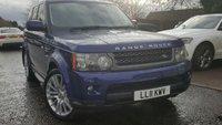 2011 LAND ROVER RANGE ROVER SPORT 3.0 TDV6 HSE 5d AUTO 245 BHP £26490.00
