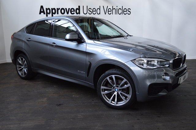 2014 64 BMW X6 3.0 XDRIVE30D M SPORT 4d AUTO 255 BHP