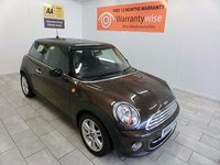 USED 2012 62 MINI HATCH COOPER 1.6 COOPER D 3d 112 BHP with 12 MONTHS WARRANTY