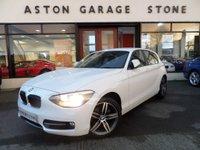 2011 BMW 1 SERIES 1.6 116I SPORT 5d 135 BHP £8850.00