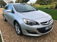 USED 2013 63 VAUXHALL ASTRA 2.0 SRI CDTI S/S 5d 163 BHP CRUISE