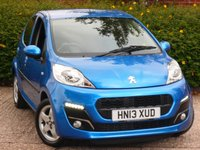 USED 2013 13 PEUGEOT 107 1.0 ALLURE 5d 68 BHP APPLY FOR FINANCE 24/7 JUST CLICK LINK IN AD