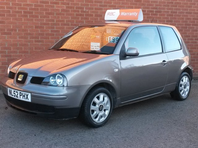 2002 52 SEAT AROSA 1.4 S 3d AUTOMATIC  LOW MILES