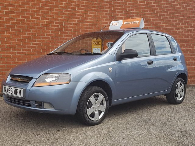 2006 56 CHEVROLET KALOS 1.2 SE 5 Door LOW MILES