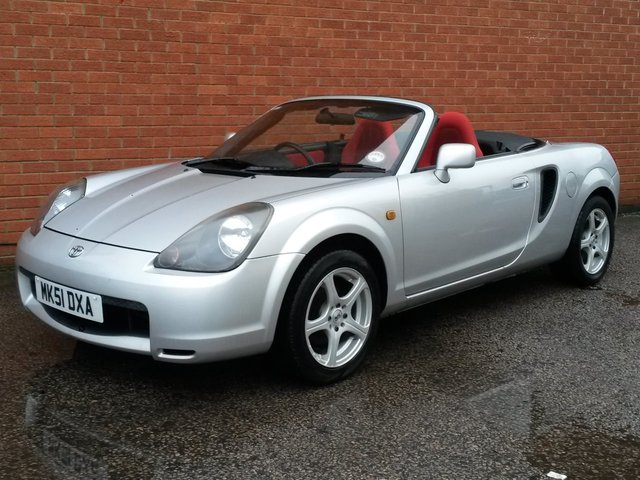 2001 51 TOYOTA MR2 1.8 ROADSTER 2d INCLUDES HARD TOP