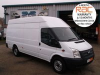 2013 FORD TRANSIT XLWB JUMBO 6 SPEED 4 METER LOAD AREA CHOICE OF  £8750.00