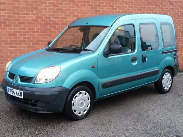 2004 54 RENAULT KANGOO 1.6 AUTHENTIQUE 16V 5d AUTOMATIC  LOW MILES