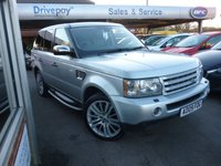 USED 2009 09 LAND ROVER RANGE ROVER SPORT 2.7 TDV6 SPORT HSE 5d AUTO 188 BHP NEED FINANCE? WE STRIVE FOR 90% APPROVALS