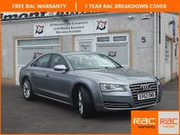 USED 2012 62 AUDI A8 3.0 TDI QUATTRO SE EXECUTIVE 4d AUTO 247 BHP One Owner / 4 Service Stamps