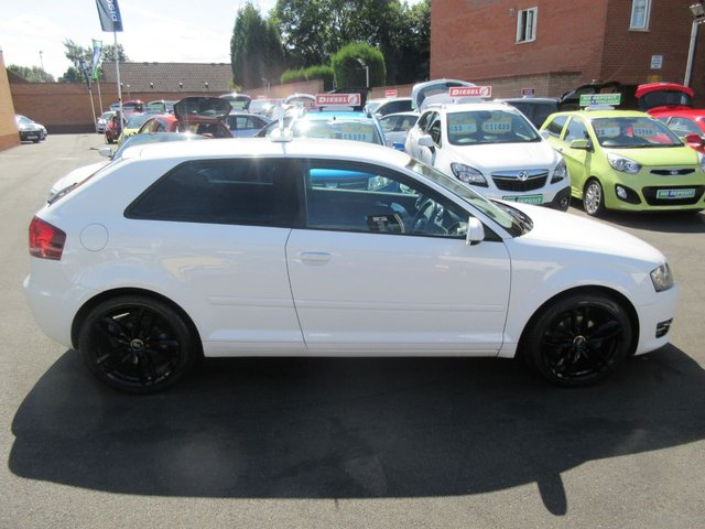 USED 2011 11 AUDI A3 1.6 TDI SPORT 3d 103 BHP CALL 01543 379066... 12 MONTHS MOT... 6 MONTHS WARRANTY... DIESEL.. FINANCE AVAILABLE