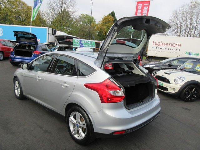USED 2012 12 FORD FOCUS 1.6 ZETEC TDCI 5d 113 BHP ** 01543 379066 ** JUST ARRIVED ** FULL SERVICE HISTORY **DIESEL
