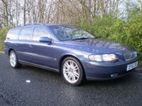 USED 2002 52 VOLVO V70 2.4 D5 SE 5d AUTO 163 BHP IDEAL WORK HORSE+BLACK LEATHER