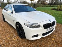 USED 2013 13 BMW 5 SERIES 2.0 520D M SPORT 4d AUTO 181 BHP FSH, LOW MILEAGE, 1 OWNER,