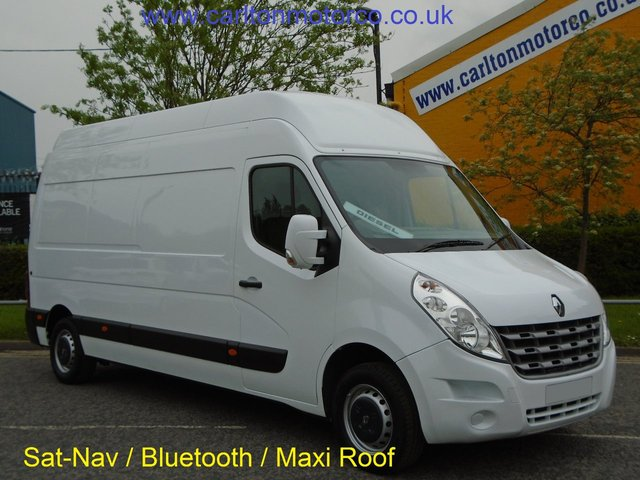 2012 62 RENAULT MASTER 2.3 LH35 DCI [ Maxi Roof ] Panel van Ex lease Free UK Delivery