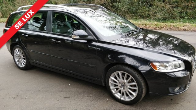 2012 12 VOLVO V50 1.6 DRIVE SE LUX EDITION S/S 5d 113 BHP