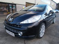 USED 2008 08 PEUGEOT 207 1.6 GT COUPE CABRIOLET 2d 118 BHP Fun Hard Top Convertible, No Fee Finance Available