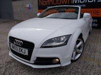 2013 AUDI TT 1.8 TFSI S LINE 2d 158 BHP £15750.00