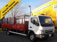 USED 2010 10 MITSUBISHI FUSO CANTER 7C18 Dropside+ T/Lift Caged sides [ Low Mileage 18k ] Delivery T,B,A