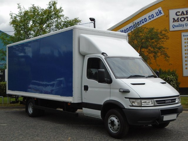 2006 06 IVECO-FORD DAILY 65C17 3.0Hpi Box / Luton van 19ft Grp body Underslung T/Lift Free UK Delivery