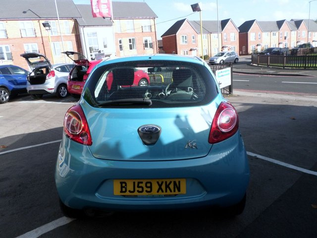 USED 2009 59 FORD KA 1.2 STUDIO 3d 69 BHP LOW TAX AND LOW INSURANCE