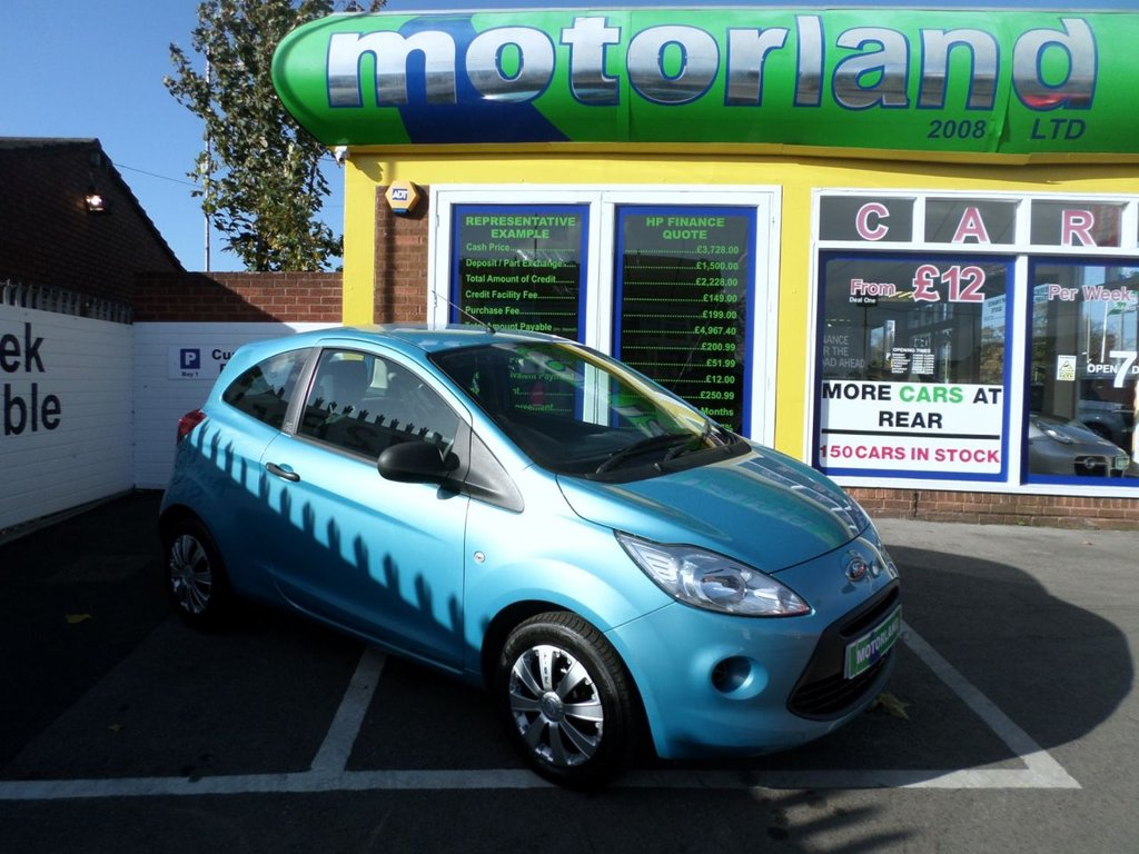 Used   Ford Ka  Bhp Low Tax And Low Insurance