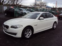 2012 BMW 5 SERIES 2.0 520D EFFICIENTDYNAMICS 4d 181BHP £13890.00