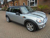 2007 MINI HATCH COOPER 1.6 COOPER 3d 118 BHP £3995.00