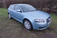2008 AUDI A3 1.6 SPECIAL EDITION 8V 5d AUTO 101 BHP,LOW MILEAGE,CRUISE,HISTORY £4990.00