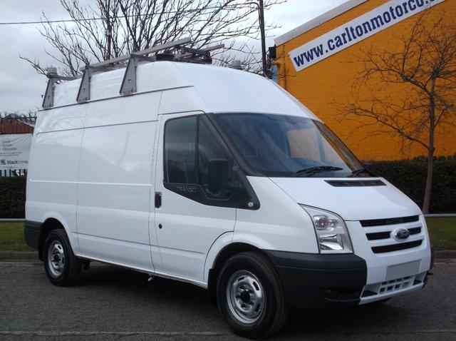 2010 59 FORD TRANSIT 115 T350m High Roof [ Mobile Workshop ] Van Ex lease Free UK Delivery