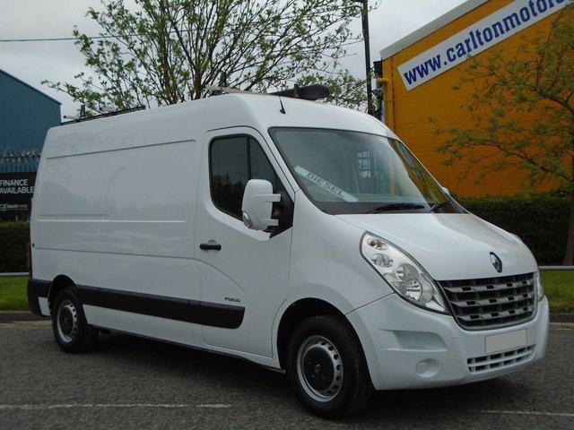 2011 61 RENAULT MASTER DCi MM35 [ Mobile Workshop ] Ex lease Fsh Free UK Delivery