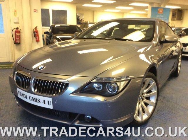 2007 07 BMW 6 SERIES 650I 4.8 V8 SPORT COUPE