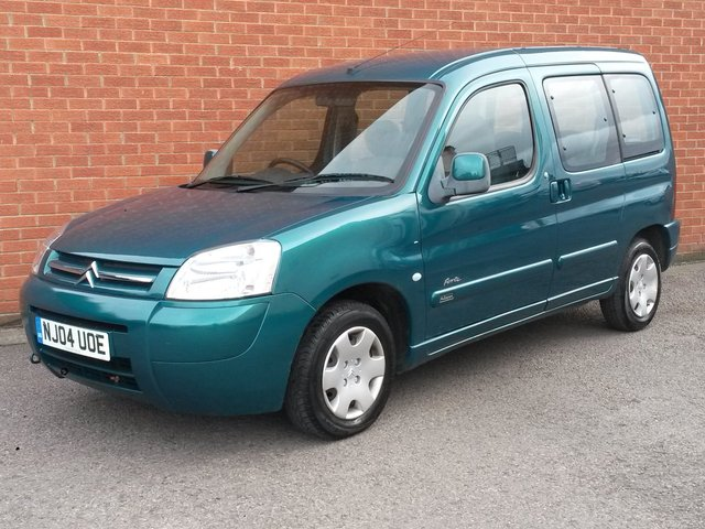 2004 04 CITROEN BERLINGO 1.9 MULTISPACE FORTE DIESEL 5 DOOR **RAC WARRANTY**