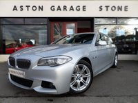 2013 BMW 5 SERIES 2.0 520D M SPORT TOURING 5d AUTO 181 BHP £14495.00