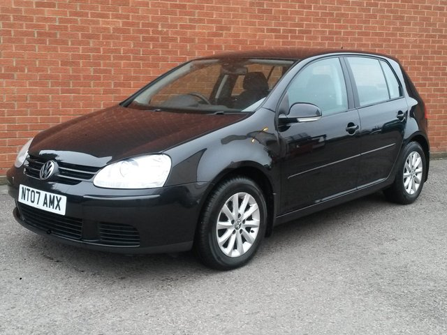 2007 07 VOLKSWAGEN GOLF 1.6 MATCH FSI 5 DOOR