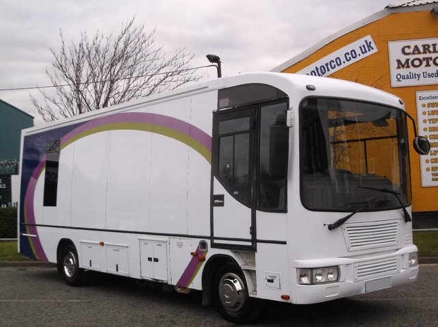 2007 07 IVECO-FORD EUROCARGO Library bus Exhibition-Motorhome-Showroom-Shop-Catering-Race Events-Office WAV Disabled