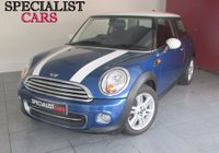 2012 MINI HATCH COOPER 1.6 COOPER 3d 122 BHP £7995.00