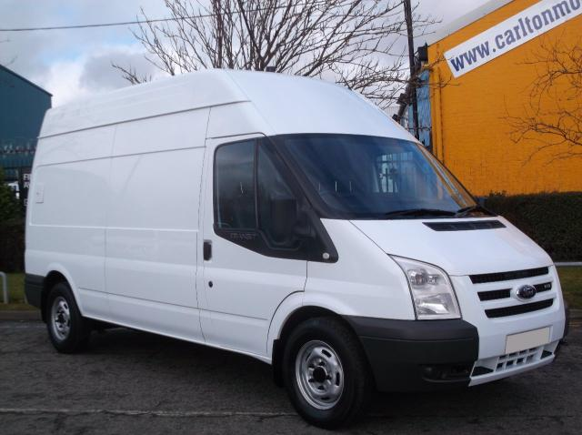 2008 58 FORD TRANSIT 110 T330 LWB HIGH ROOF [ Low Mileage ] NO VAT TO PAY LTD OFFER