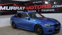 2013 BMW 3 SERIES 2.0 320D M SPORT 4DOOR ESTORIL BLUE £SOLD