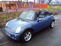 2005 MINI CONVERTIBLE 1.6 COOPER 2d 114 BHP £2890.00