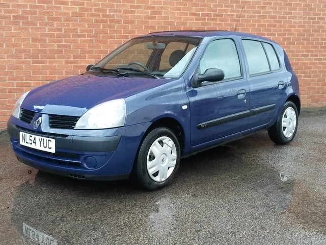 2004 54 RENAULT CLIO 1.1 EXPRESSION 16V QUICKSHIFT 5 5 DOOR AUTOMATIC