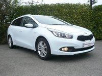 2014 KIA CEED 1.4 VR7  ESTATE 5d 100 BHP £8999.00
