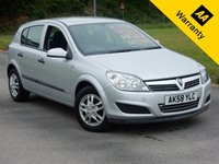 USED 2008 58 VAUXHALL ASTRA 1.7 LIFE CDTI 5d 100 BHP  FINANCE SPECIALISTS, 0% FINANCE AVAILABLE  LOW RATE FINANCE AVAILABLE