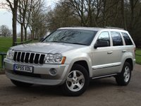2005 JEEP GRAND CHEROKEE 3.0 V6 CRD LIMITED 5d AUTO 215 BHP £6975.00