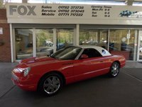 USED 2002 51 FORD THUNDERBIRD 3.9, 2 DOOR CONVERTIBLE LEATHER/CRUISE/CLIMATE