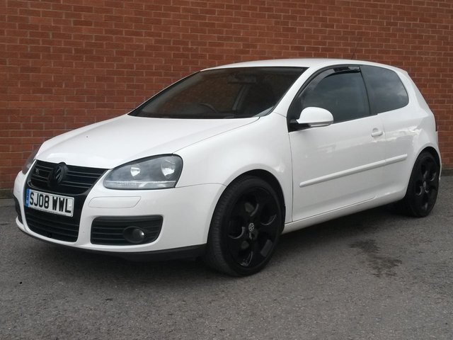 2008 08 VOLKSWAGEN GOLF 2.0 GT SPORT TDI 3d 210 BHP FULL LEATHER