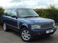 USED 2006 55 LAND ROVER RANGE ROVER 2.9 TD6 HSE 5d * DIGITAL TOUCH SCREEN DISPLAY * FULL HEATED LEATHER INTERIOR *