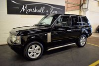 USED 2005 55 LAND ROVER RANGE ROVER 3.0 TD6 VOGUE 5d AUTO 175 BHP 7 STAMPS TO 88K MILES - LEATHER - SAT NAV - 22 INCH ALLOYS - SIDE STEPS
