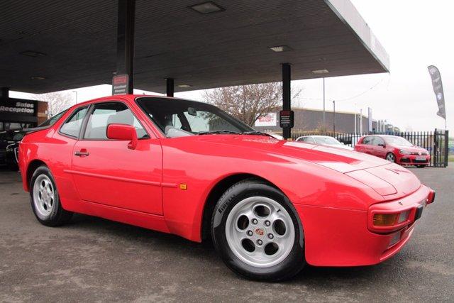 1986 PORSCHE 944 2.5 2.5 2d 163 BHP