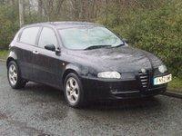 2002 ALFA ROMEO 147 1.6 T.SPARK 16V 5d 118 BHP £600.00