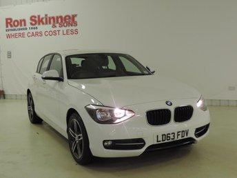 2014 BMW 1 SERIES 1.6 114D SPORT 5d 94 BHP with Rear Parking Sensors £15899.00
